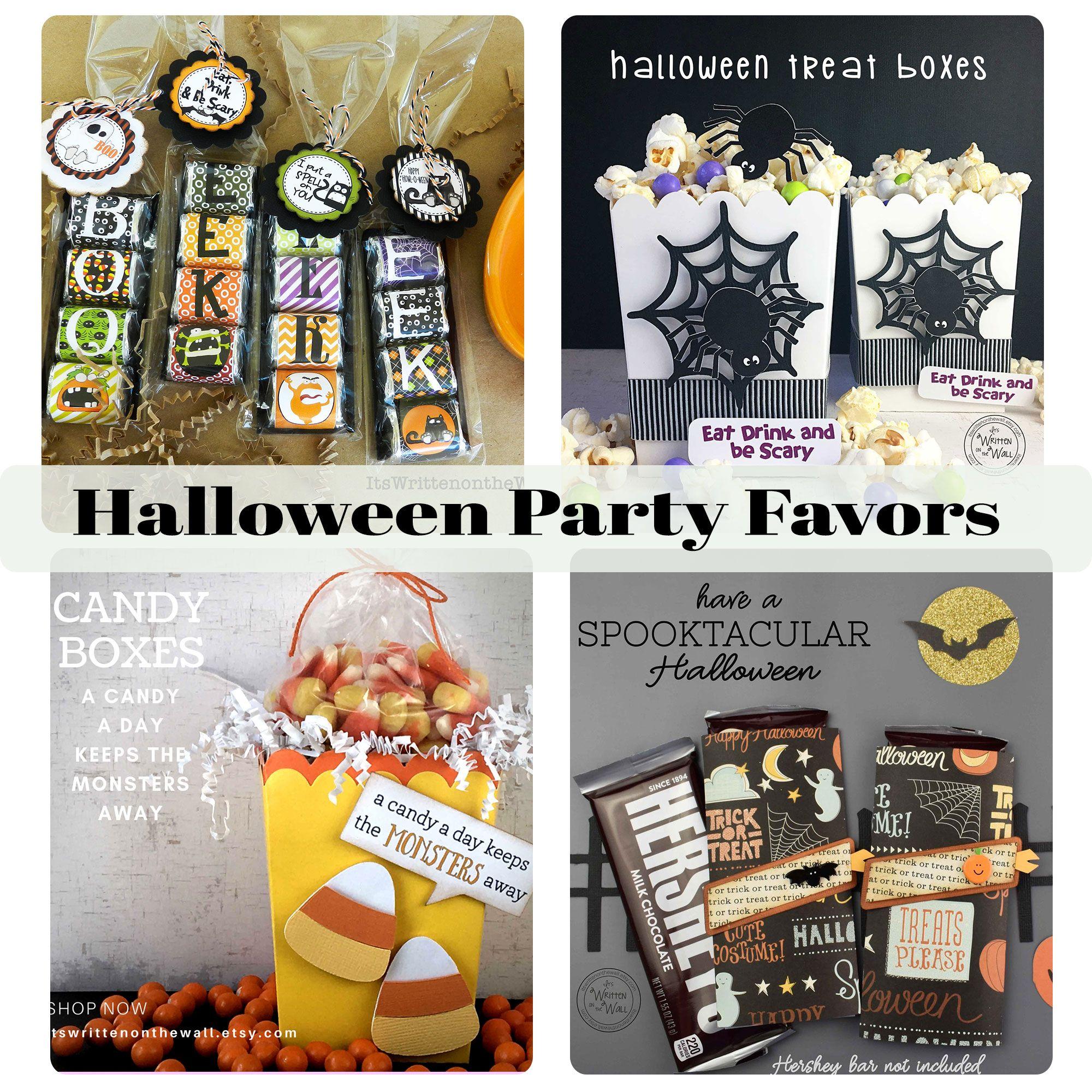 Halloween Treats Party Favors Employee Ts Teacher