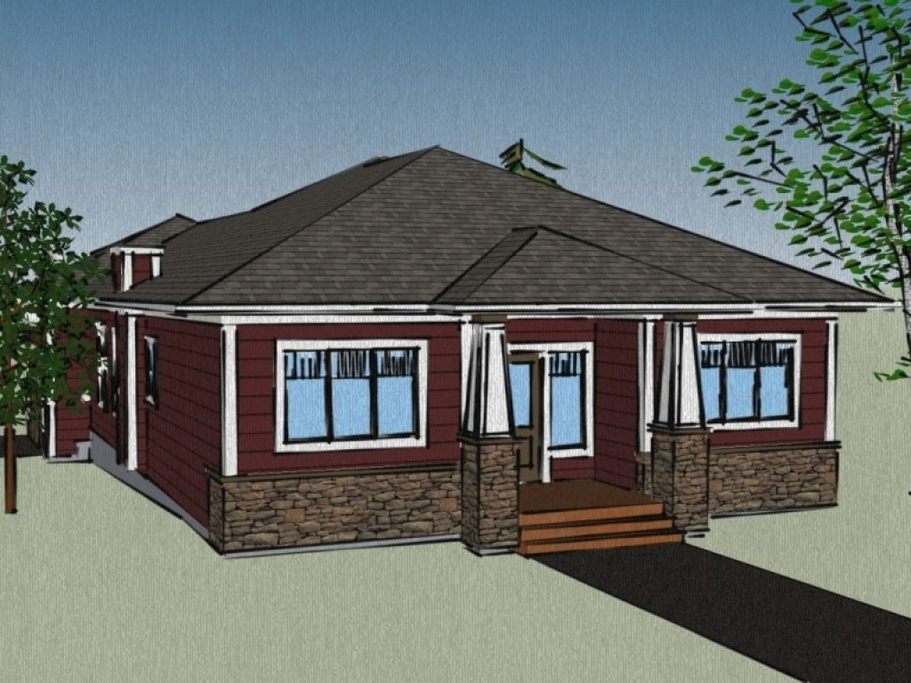 House Plans With Attached Garage Small Guest Floor Home Plan Details