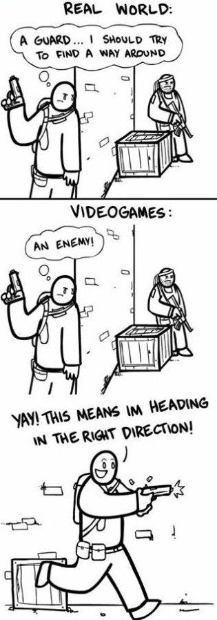 Gamers Logic - www.meme-lol.com