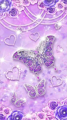Purple diamond butterfly download free.