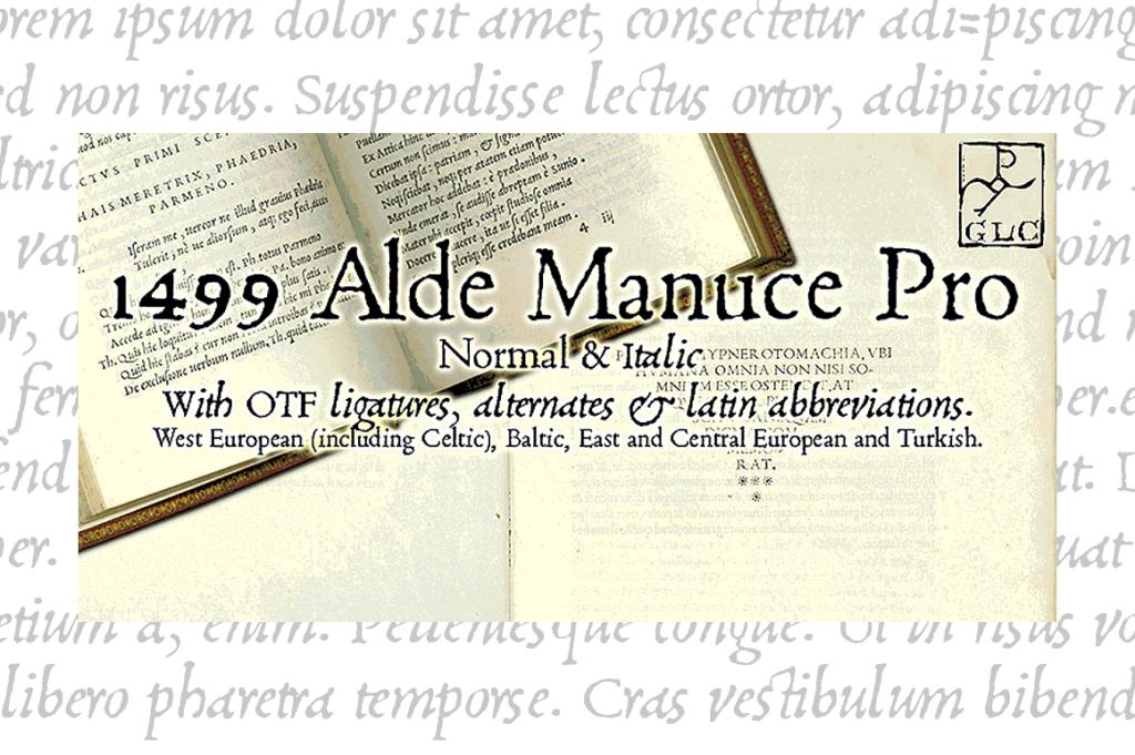 1499 Alde Manuce Pro V1 1 Family Font By Glc Foundry Dengan Gambar Pria