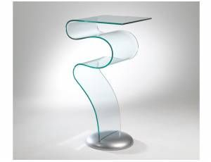Consolle Vetro Curvato.Pin On Home Furniture