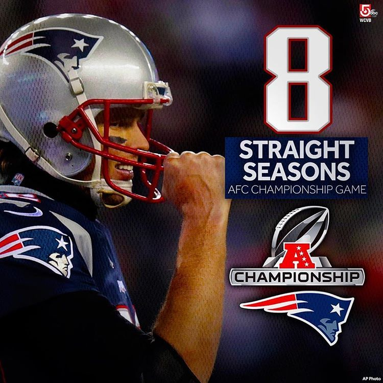 Another year, another AFC Championship game! Seriously