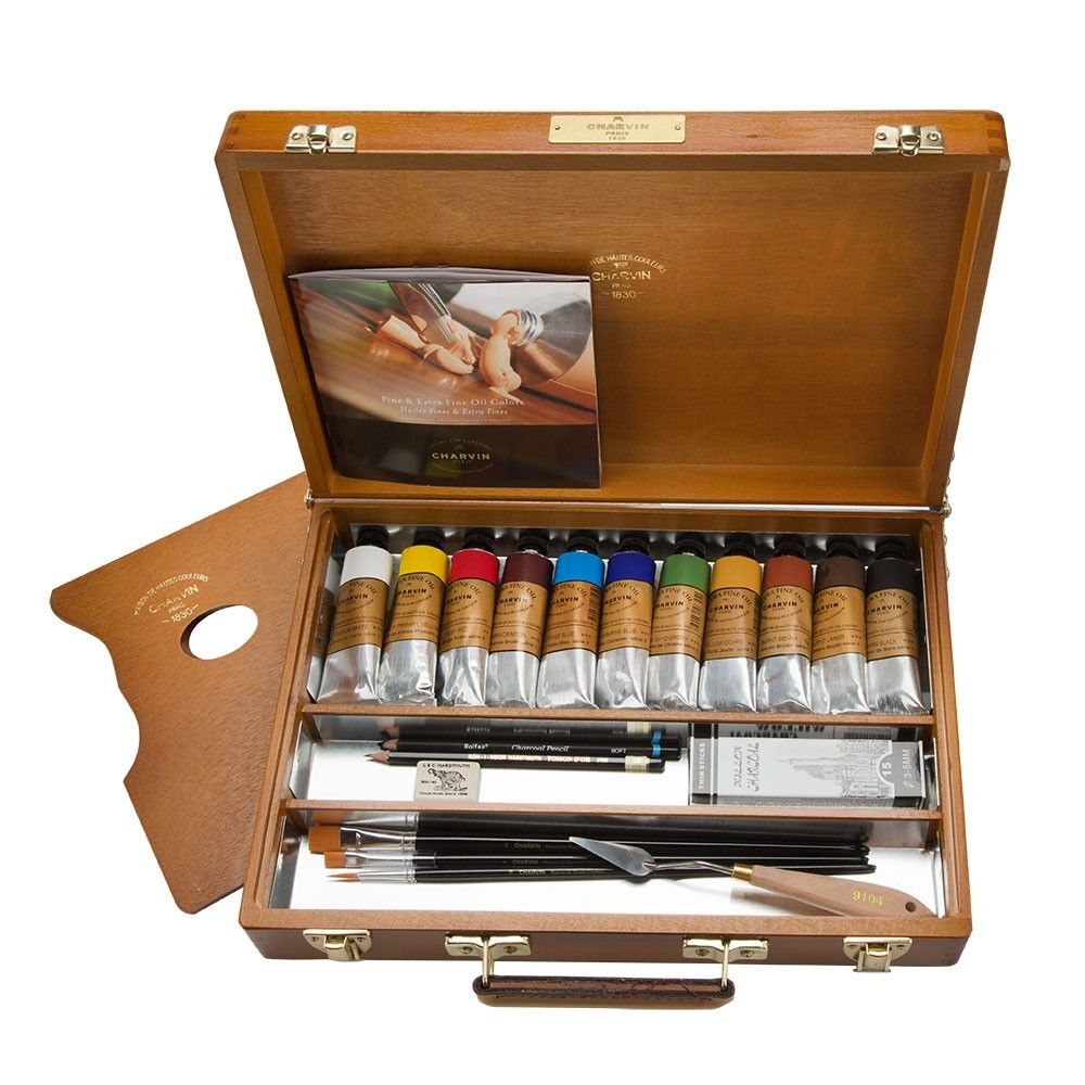 Charvin Extra Fine Professional Oil Painting Sets Jerry