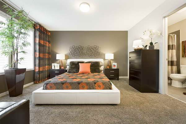 Carpet Bedrooms Fascinating 5 Myths On Installing Carpet Flooring #carpet #flooring Design Ideas