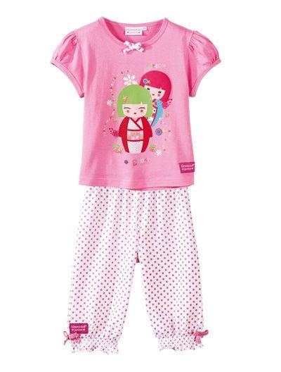 Kimmidoll short pyjamas PINK/PRINT