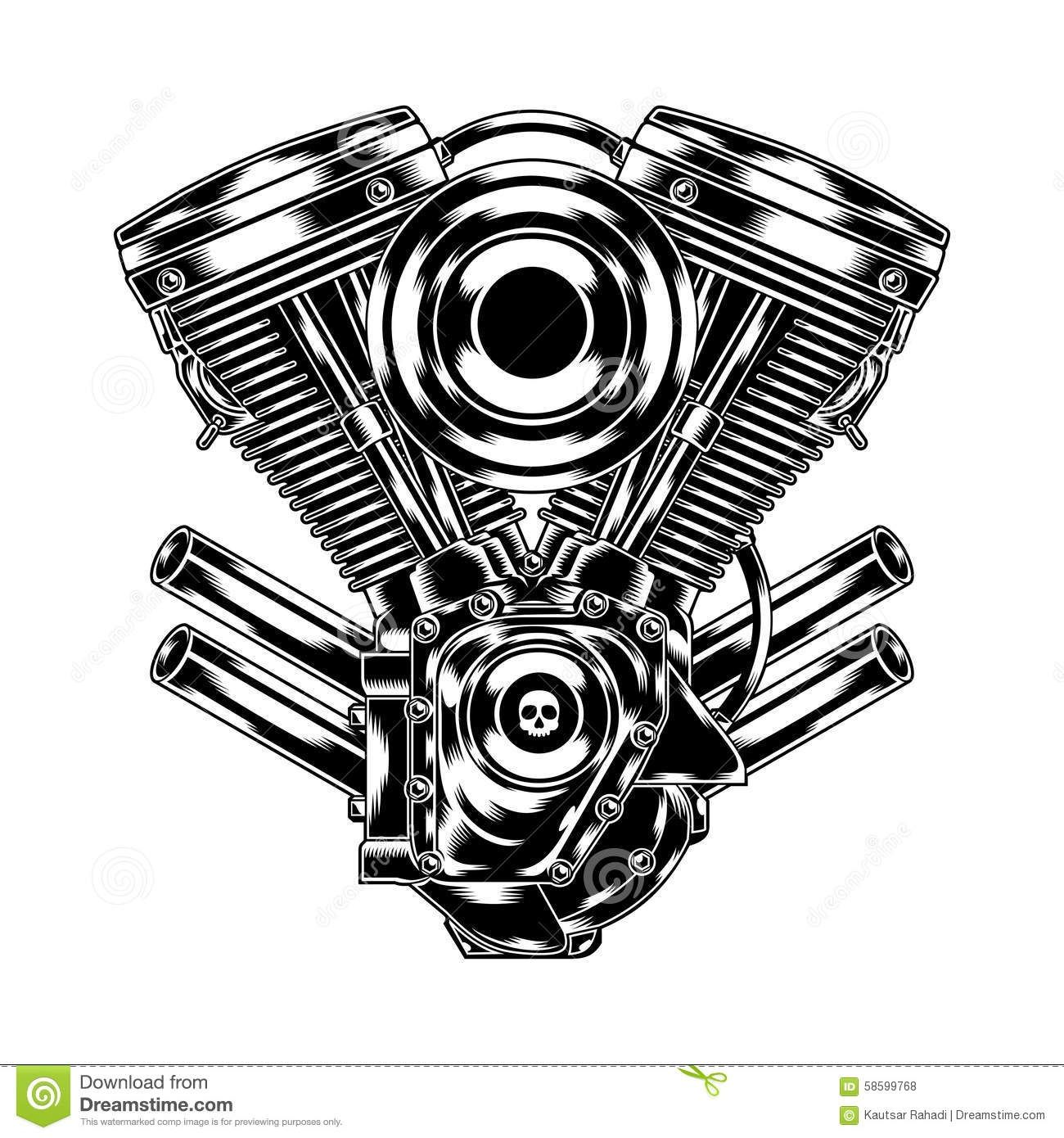 Engine Clipart Motorcycle 10
