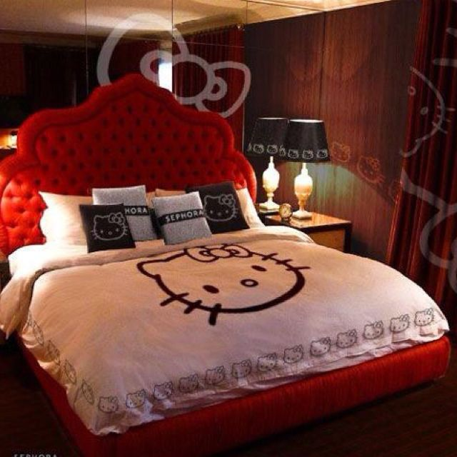 Die besten 25 hallo kitty schlafzimmer ideen auf pinterest hallo kitty bett hello kitty - Hello kitty schlafzimmer ...