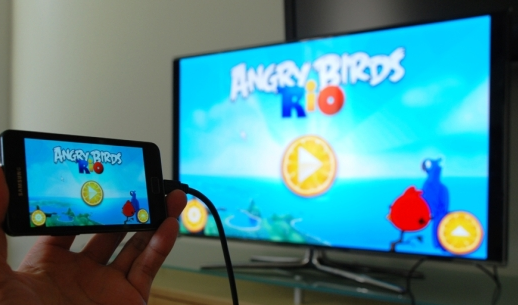 Samsung Galaxy S4 Tips And Tricks : TV Out MHL To HDMI | phone