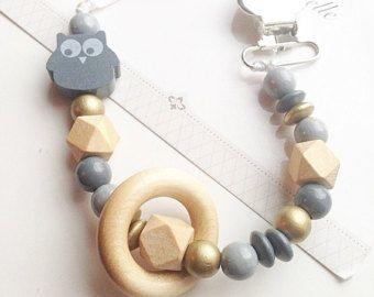 Halskette mit Perlen Baby Teether Kau Spielzeug Die Zahnkette