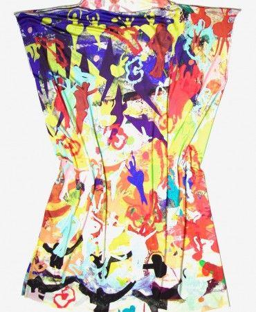 Dancing Dress in Silk Jersey