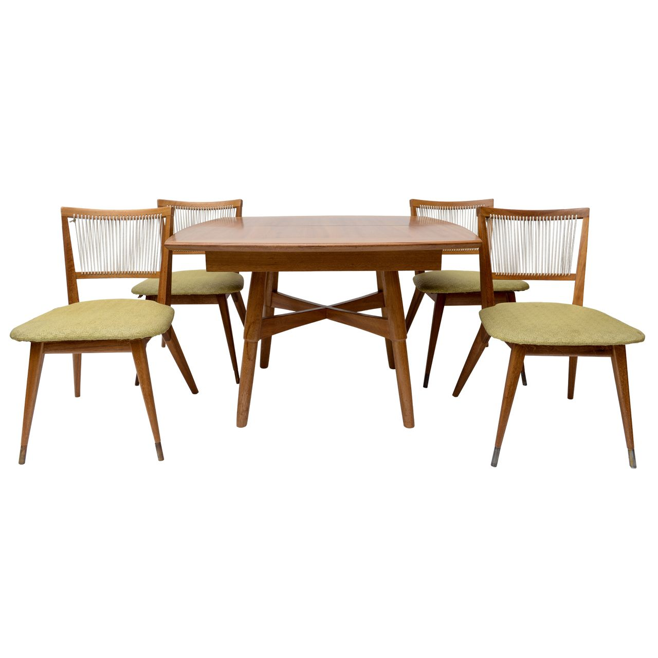 John Keal For Brown Saltman Dining Table And Chairs Table Dining Table Chairs Table And Chairs