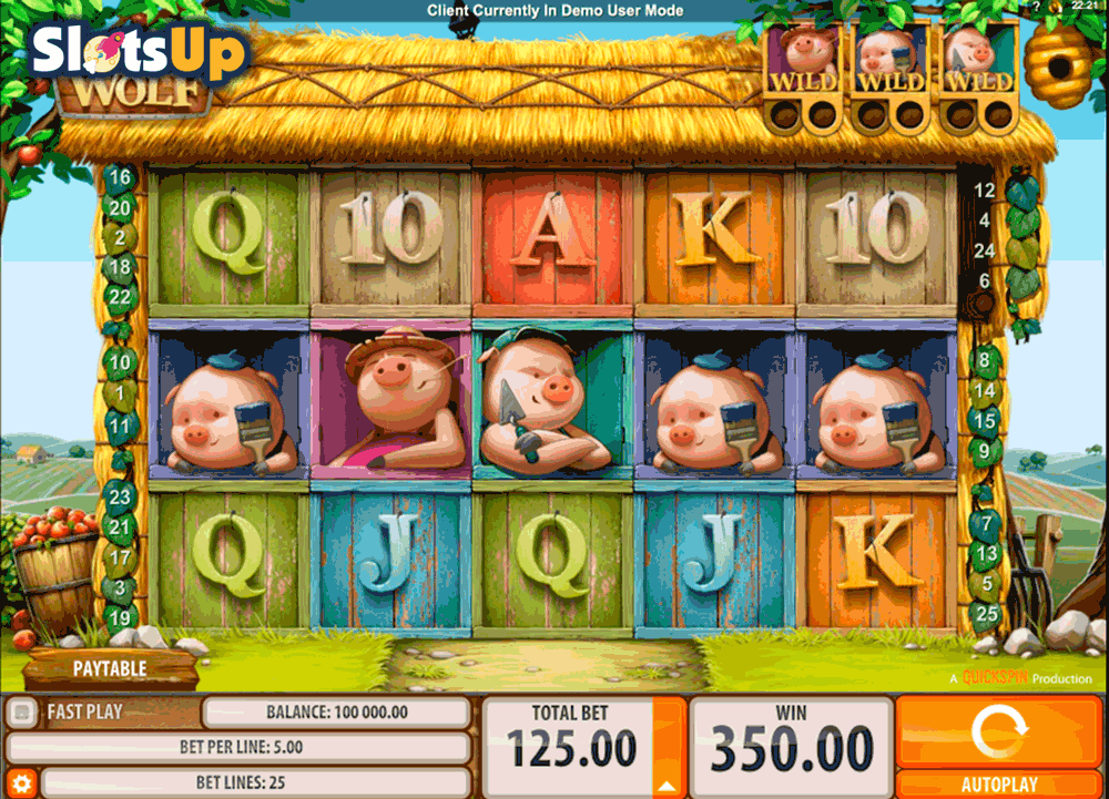 Spiele Piggies And The Wolf - Video Slots Online