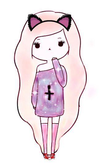 Oblyvian Tumblr Girls Disegni A Mattita Pinterest Cose Da