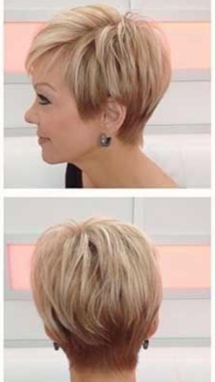 Hintere Ansicht von Victoria Beckham Bob Hairstyle