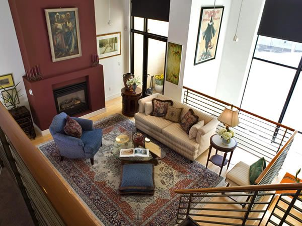 Living Room With High Ceiling Interior Decorationshanging Wall Entrancing High Ceiling Living Room Designs Review