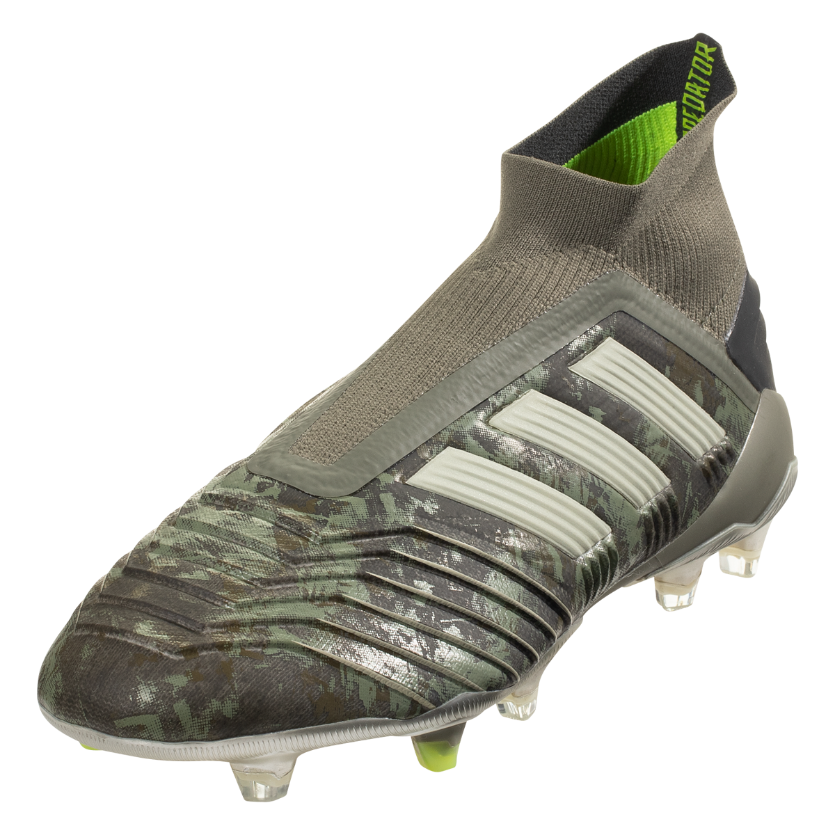 adidas Predator 19+ FG Soccer Cleat Legacy Green/Sand/Solar ...