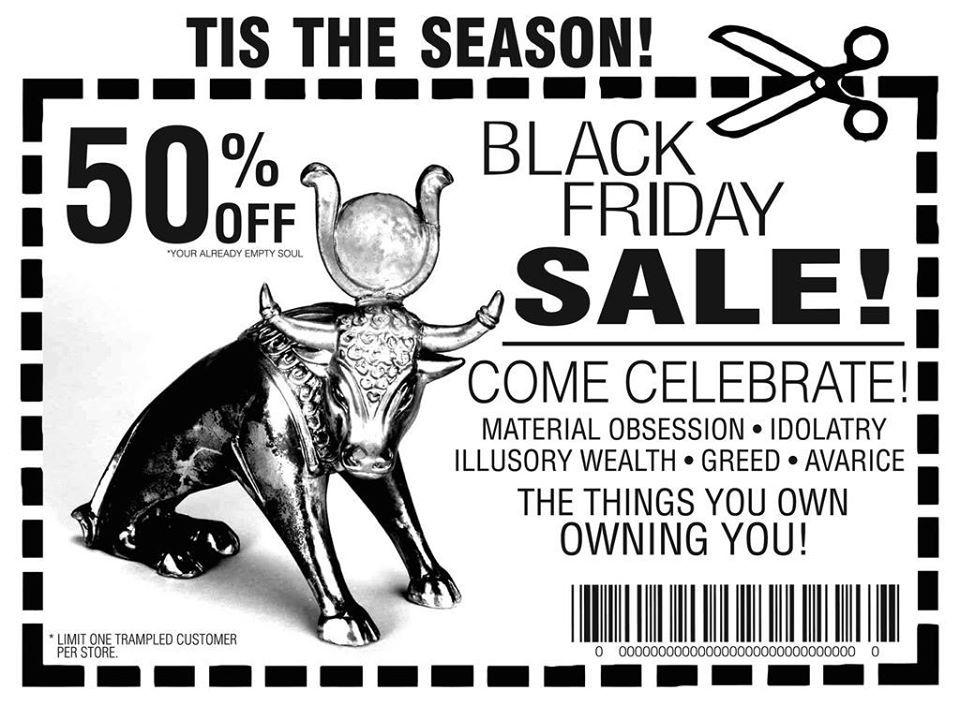 Boycott, black friday,