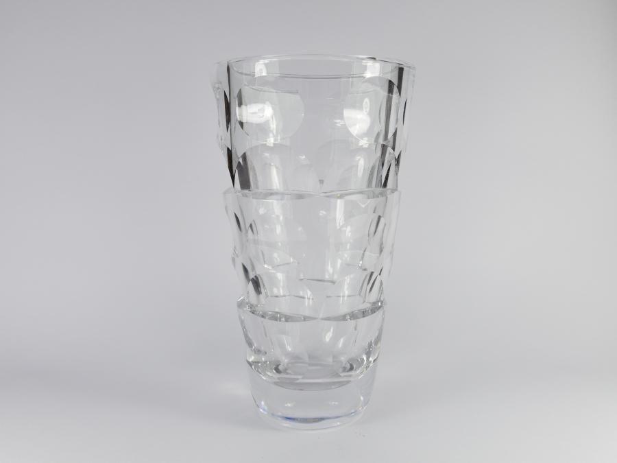 Orrefors Glass 1000 Windows Large Artglass Vase 65 By