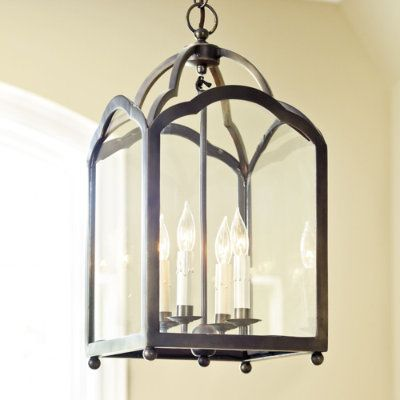 This is the one on back order until July. Two lanterns for downstairs entry hallway-oil rubbed bronze finish.