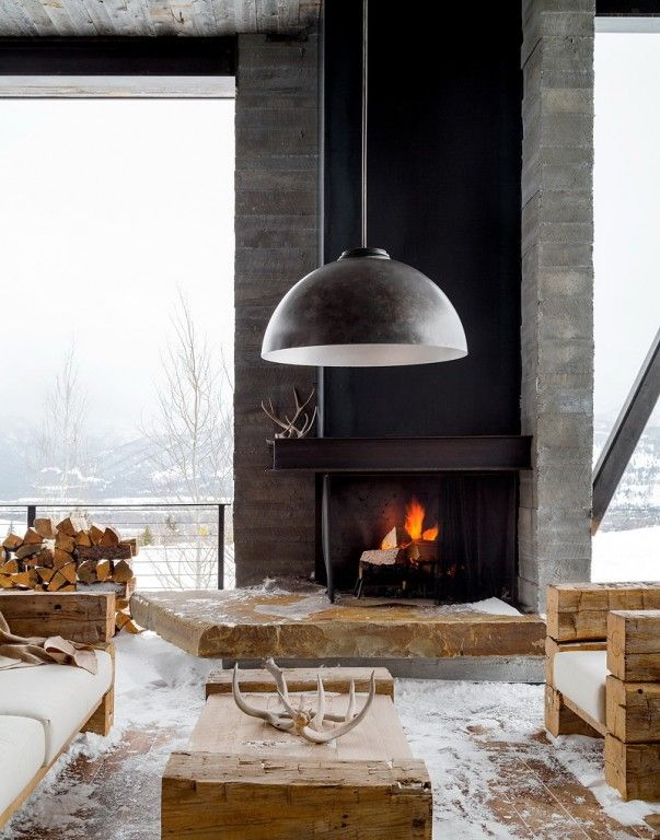 Binnenkijken   Droomhuis in het winterse Wyoming (VS) – Stijlvol Styling - Woonblog www.stijlvolstyling.com