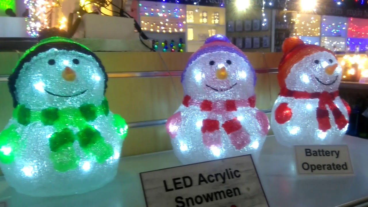 Christmas Decorations at Brigg Garden Centre 2nd October