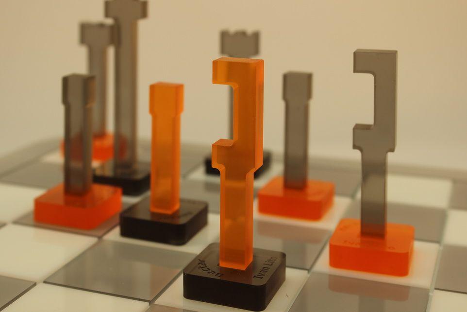 MODERN CHESS SET Google chess Pinterest Chess sets