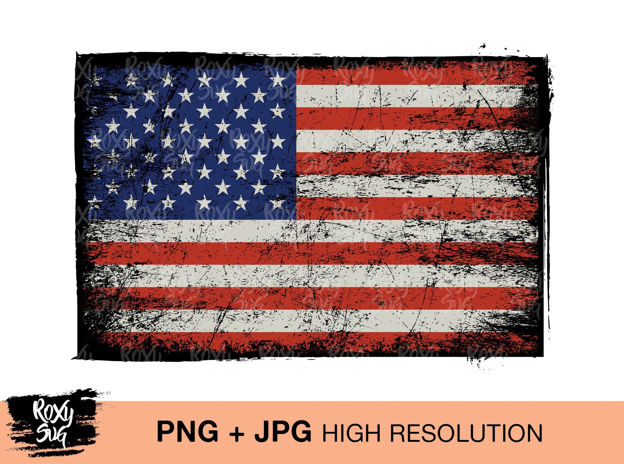 American Flag Png Distressed Us Flag Sublimation Designs Etsy American Flag Clip Art American Flag Images American Flag Drawing