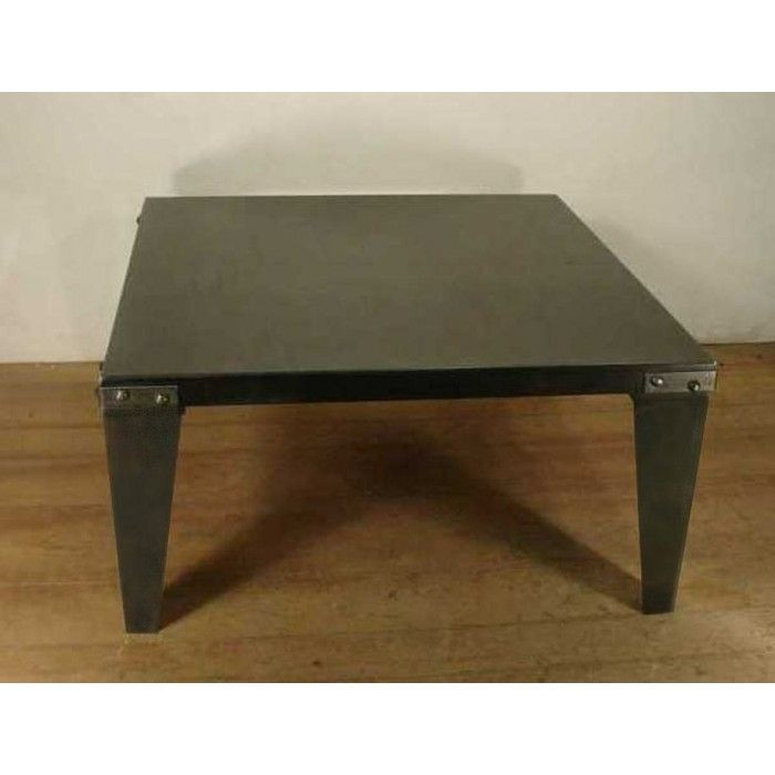 Steel 36 Inch Square Coffee Table Is Strong And Versatile 570