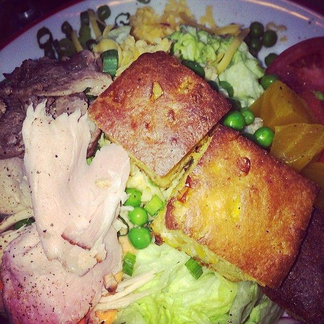 Who doesn't love a hearty salad! #FoundingFarmers (Photo credit: @Jesse Valdez Borja )