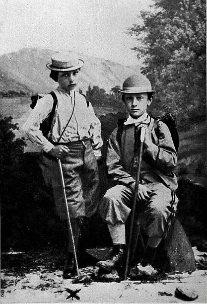 Wilhelm with his cousin Prince Friedrich of Baden
