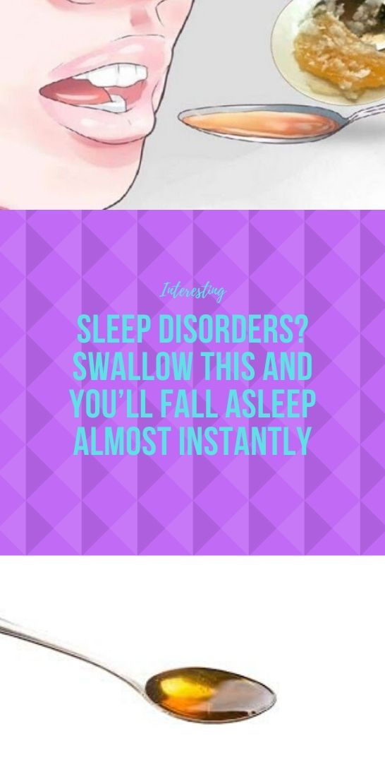 Photo of Sleep disorders? Swallow this and you'll fall asleep almost instantly