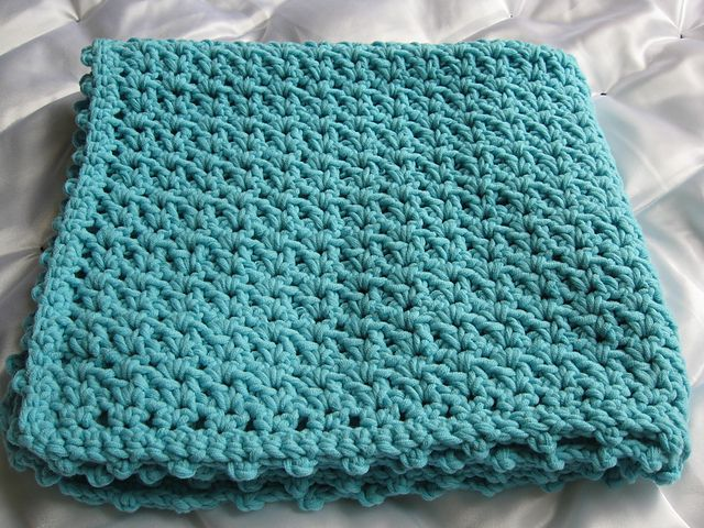 Ravelry: Sea Blue Baby Afghan pattern by Lion Brand Yarn