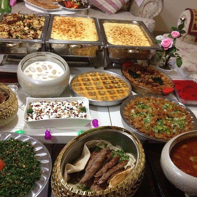 اكلات شامية On Instagram بوفيه مفتوح Food Breakfast Instagram