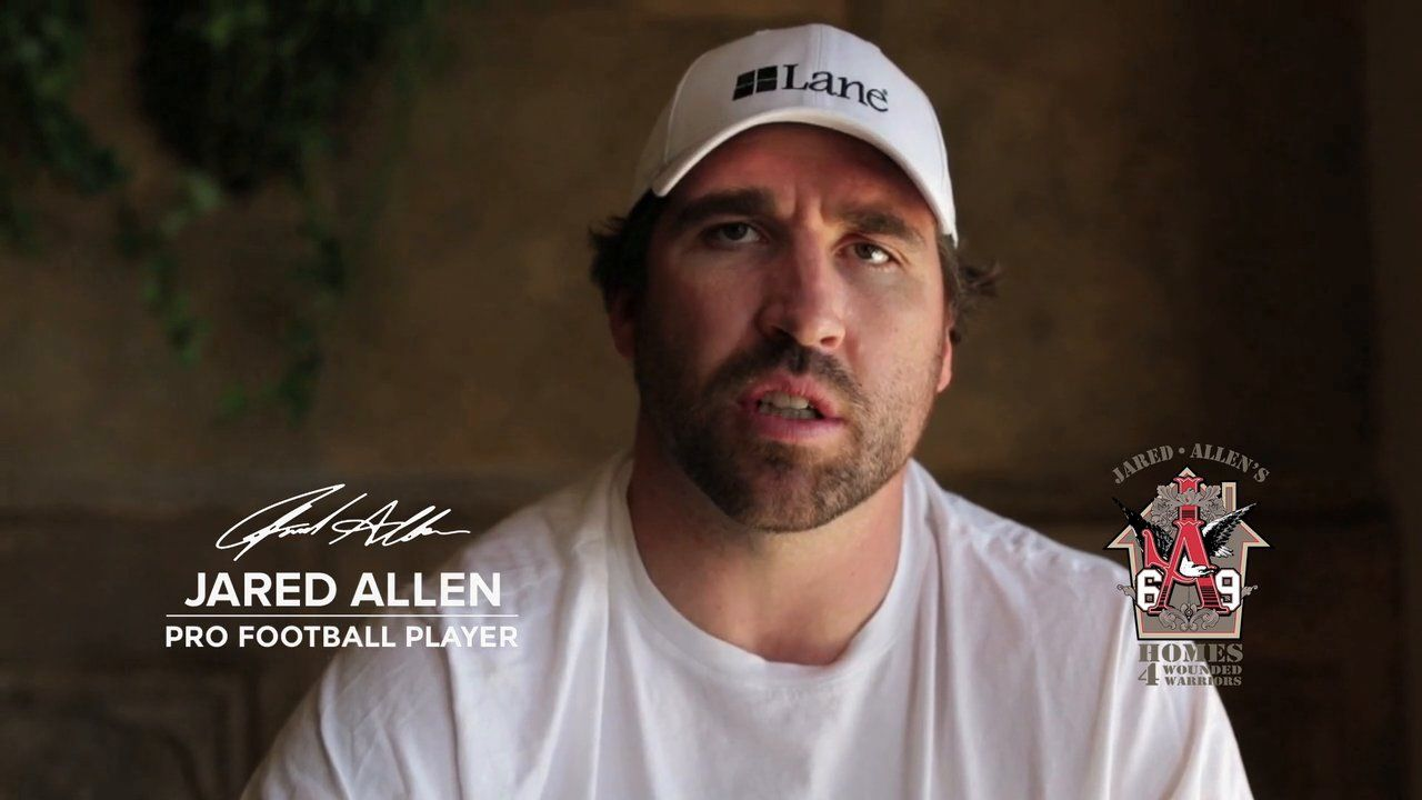 Check out our recent Built for Heroes spot for Lane Furniture and Jared Allen's Homes for Wounded Warriors featuring Jared Allen!