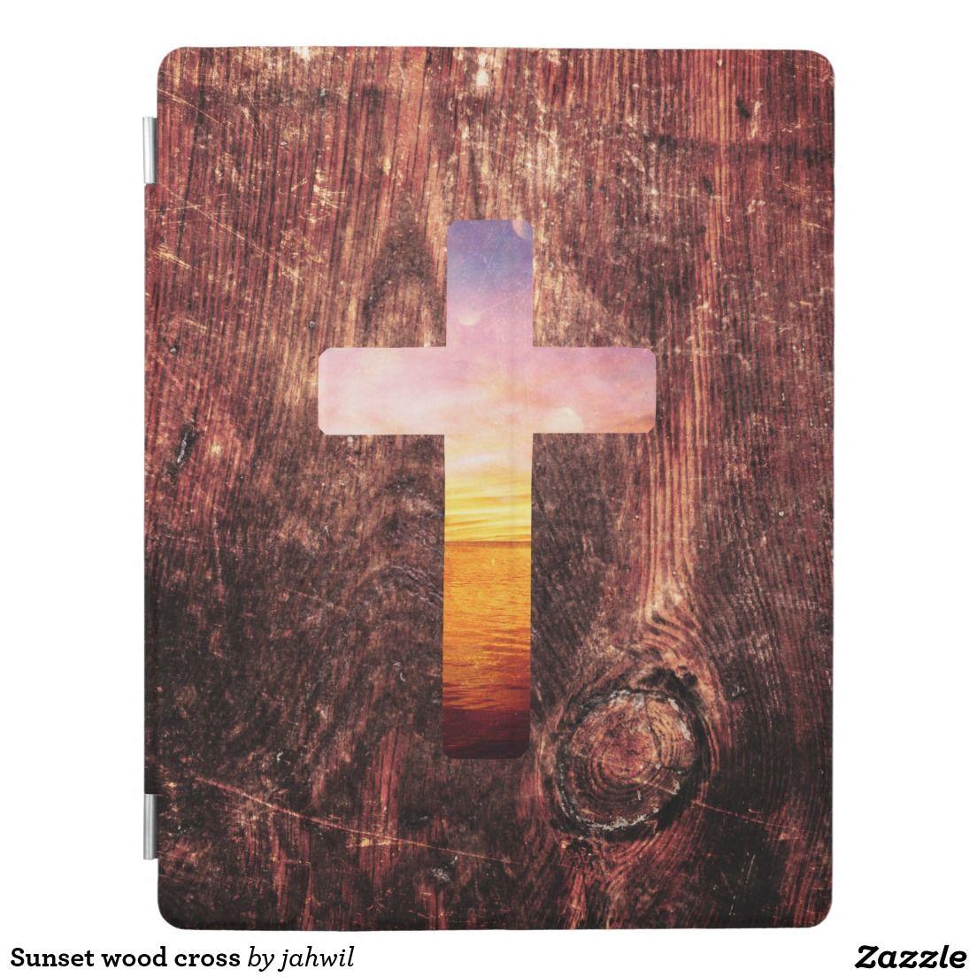 Sunset wood cross iPad cover #sunset #wood #god #cross #spirituality #vintage #ipadcase #landscape #jesus #dream #boho #religion #cute #cool #sea #beautiful #pattern #nautical #crucifix #wooden #religious #beach
