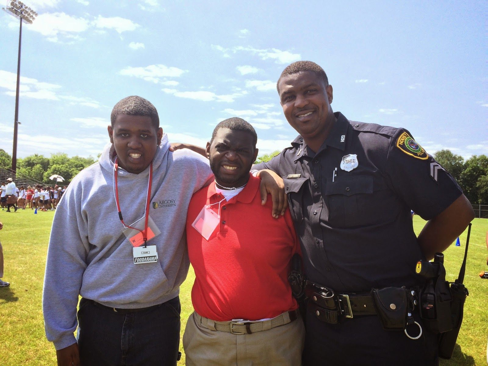 Houston Police Explorers volunteer at Special Olympics | HPD