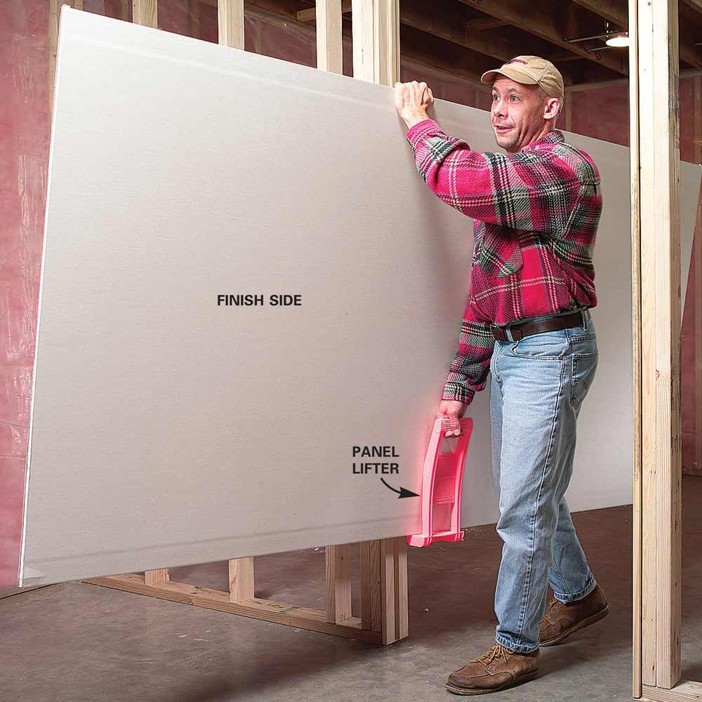 Tips For Easier Diy When You Work By Yourself Diy Home Improvement Home Safety Tips Drywall