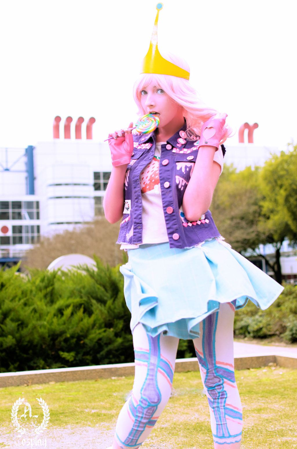 Punk Princess Bubblegum by Evettesniche.deviantart.com on @DeviantArt