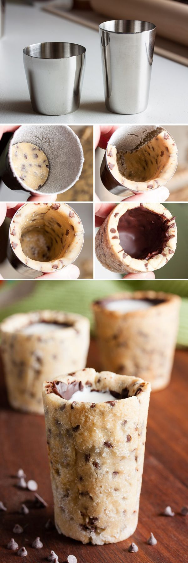 How to Make Cookie Shot Glasses