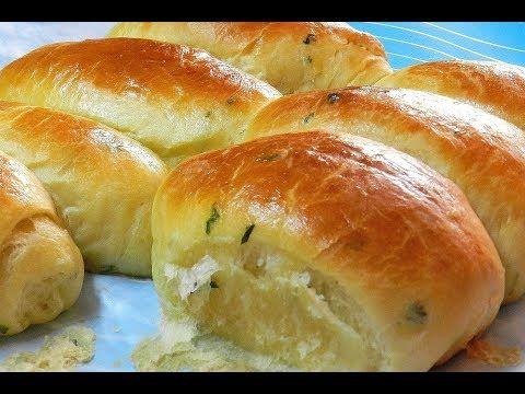 GARLIC DINNER ROLLS - SOFT FLUFFY DELICIOUS ! Garlic Bread Rolls Recipe - YouTube