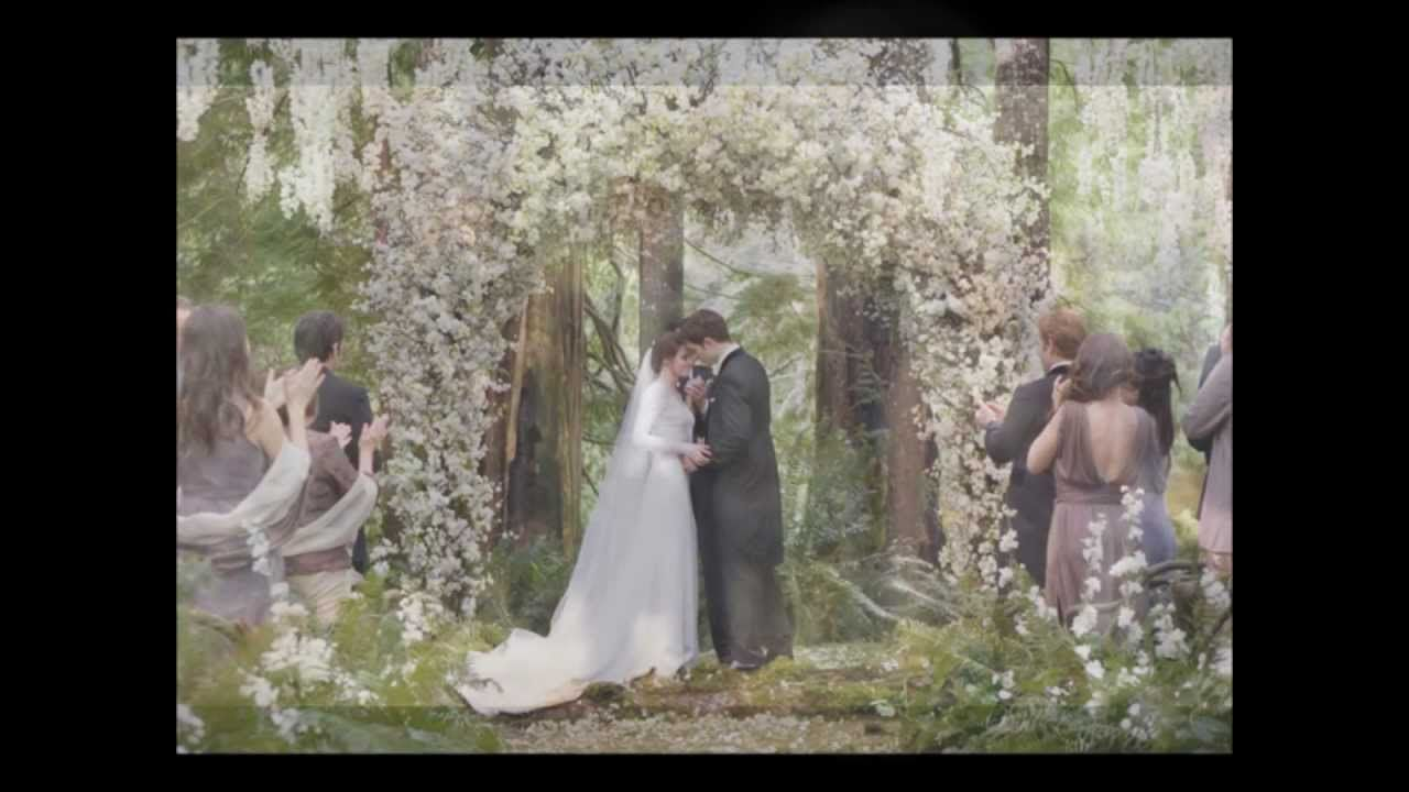 I Could Care Less About Twilight But I Am In Love With The Song She Walks Down The Aisle To Tur Twilight Wedding Twilight Wedding Scene Breaking Dawn Wedding