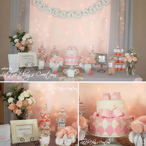 GIRL ~ BABY SHOWER IDEAS & INSPIRATIONS