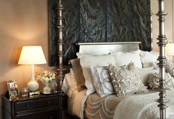paula deen's bedroom~ love the bedding! | dreamy bedrooms
