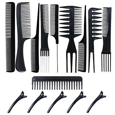 Ad Professional Styling Comb Set 10 Piece Hair Combs Salon Hair Styling Tool New Hair Tools Styling Comb Styling Tools