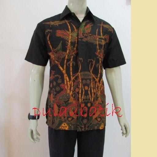 Kemeja Dari Batik Tulis: Menjual Aneka Model Dan Desain Pakaian Dengan Harga Murah