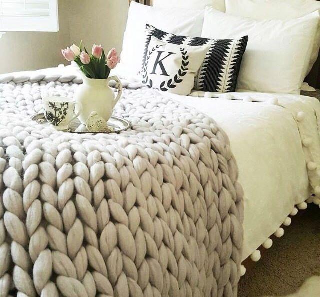 36e7d31c96 Chunky Knit Blanket