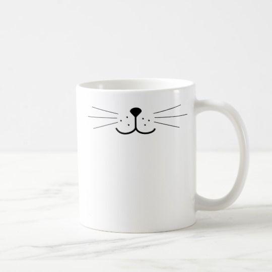 Cute Cat Face Coffee Mug | Zazzle.com
