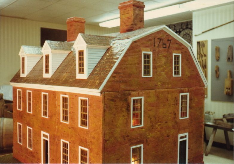 This Georgian Colonial Dollhouse Is A Hand Made Museum