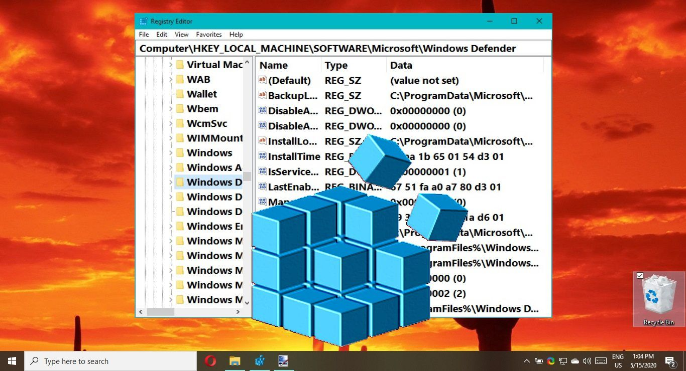 How To Enable Automatic Registry Backup In Windows 10 Or Perform A Manual Save Windows Registry Windows Windows Defender